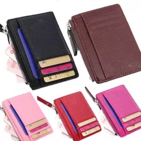 Dompet Kartu Wallet Card Holder Kulit Import DXX028