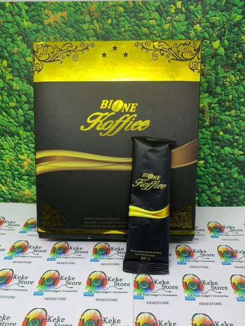 Kopi Herbal Original 100% Cofee Bio One 1 Box Untuk Lelaki
